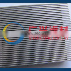 stainless steel wedge wire screen for food products