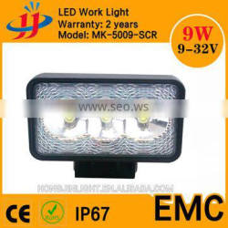 Super powerful square led offroad light motorcycle 12v led lamp led driving lights led car headlight