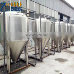 Hot sale conical beer fermenter 3bbl jacketed stainless steel beer equipment brewing fermentation tank for sale