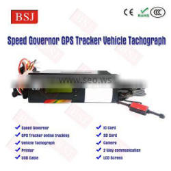 Real Time Vehicle GPS Tracker Vehicle Speed Limiter/Governpr for Fleet Management BSJ-T01