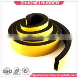 Adhesive Backed EPDM Rubber Foam Tape