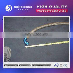 Stainless steel braided PTFE teflon hydraulic hose pipe