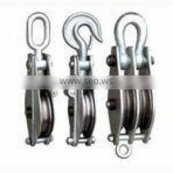 Rope Lifting Pulley Blocks(Steel sheave)