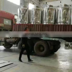 1000L Capacity Beer Fermentation Tanks Brewing Equipment / Beer Brewery Conical Fermenter Tank