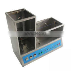 Imported K-type Thermocouple Single Wire And Cable Vertical Burning Test Machine