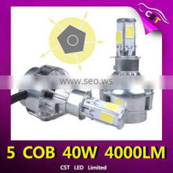 Paypal Accepted Light bulbs Led Headlight H1 H4 H7 H8 H11 9005 9006 for motorcycle