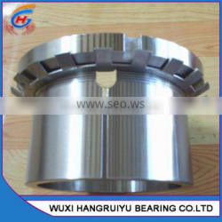stainless steel adapter sleeve with lock nut and device H309 for Self-aligning ball bearing