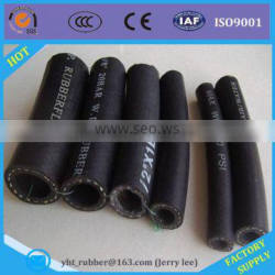 Fabric surface rubber hose used in diesel conveying and oil resistance application