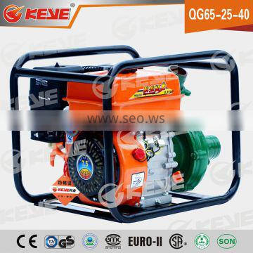 high quality self-priming gasoline aluminium agricultural water pump with high lift head