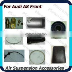 Hot sale new car accessories in 2014 aluminum can/ front rubber sleeves suspension accessory for Audi A8 made in china