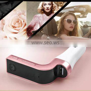 LED Bluetooth Car FM Transmitter Handsfree Car Kit MP3 Music Player Radio Adapter With Single USB Car Charger T853A
