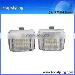 car number plate light new products on china market for W207 car LED accessory light license plate lamp Canbus No Error code