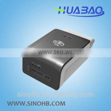 gps sms gprs tracker vehicle tracking system obd2 connector