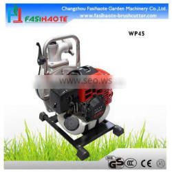 Long pole gasoline water pump