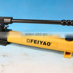 FY-EP-392 series lightweight hydraulic manual hand pump /high pressure 700bar low pressure 13.8bar