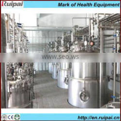 Stainless steel conical fermenter used for beer/wine