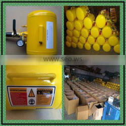 5 gallon tire bead Seater /yellow color for tire repair