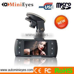 Hottest car security 2.7inch dvr+parking mode recorder car video recorder