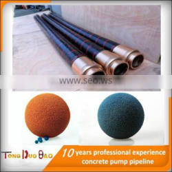 4 Ply Steel Wire Reinforced Concrete Delivery steel wire Spiraled Rubber Hose