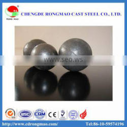 Metallurgy mine used low chrome 110mm grinding steel ball