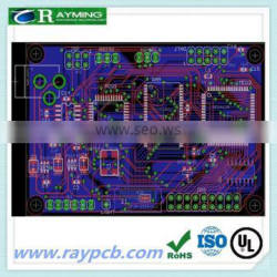 High quality 0.1mm hole size immersion gold circuit board
