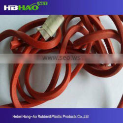 viton o ring silicon rubber mass production sealing strip