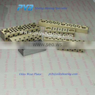 STS Mould Die Component bronze pad,STS18-30 Oil Free Copper Plate,oiles Copper Wear Plate