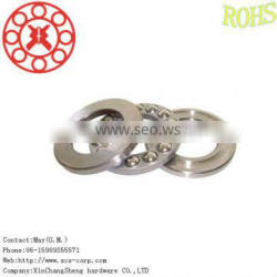 stainless steel bearings 51117 for Elevator accessories,thrust ball bearing made in Asia