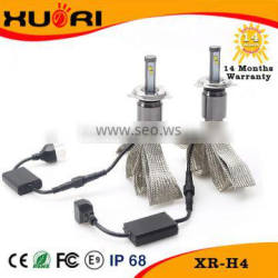 2016 New Product 12/24V LED Auto Headlight W High Power Car Headlamp for H4,H1,H3,H7,H8,H11,H13,9005/9006