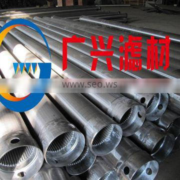 """stainless steel 8-5/8"""" v shape wedge wire water well screen"""