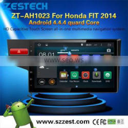 android 4.4.4 car dvd with gps for Honda FIT 2014