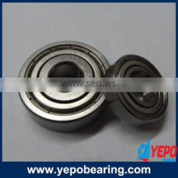 Hot sale China Yepo brand Cheap ball bearings 6200 single row deep groove ball bearing,simple in design,easy for replacement