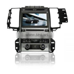 car central media for Ford Taurus with GPS/Bluetooth/Radio/SWC/Virtual 6CD/3G internet/ATV/iPod/DVR