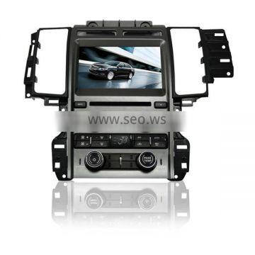 Hot! Dual zone wince car central multimedia for Ford Taurus with GPS/Bluetooth/Radio/SWC/Virtual 6CD/3G /ATV/iPod