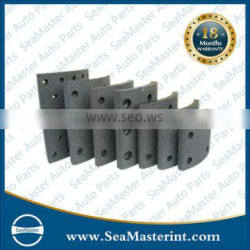 High quality non-asbestos brake lining for FMSI:4524ANC