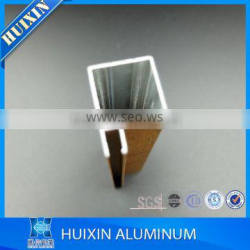 china factory aluminum kitchen cabinet profile extrusion