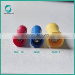 Corrosion resistance,Good Insulation 1.5-6mm2 BV series copper terminal lugs connector disconnector