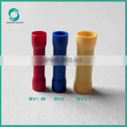American,Japan,Germany Standard 1.5-6mm2 BV series brass terminal copper terminal insulated terminall