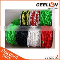 China Manufacturer Safety Plastic Chain
