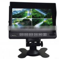 7 inch 12V LCD Digital Car Monitor rear view monitor for Bus Truck trailer van RV Hot Selling