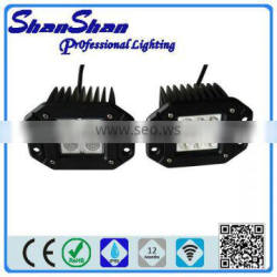 12W CREE LED Work Light/led spot light for motorcycle