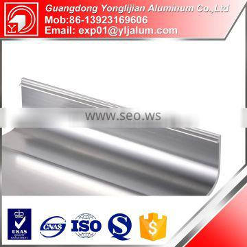 2015 newest products abrasive resistance aluminum profile for decoration