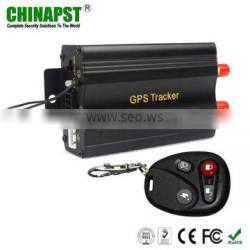 sms/gprs/lbs gps tracker with Remote Controller PST-VT103B+