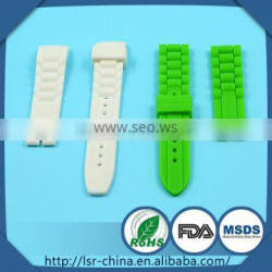 2014 top selling non-toxic custom OEM adjustable watch strap in China