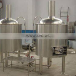 Beverage brewery bong Bottle filling machinery of ale beer 400L beer brewing machines for sale