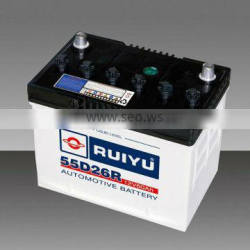Super Power 12v60AH Dry Cell Auto Batteries