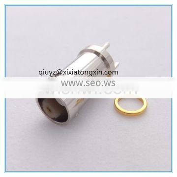 sma brass rf coaxial connector with high quality