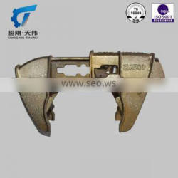 2015 top lost wax casting iron products made in China