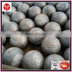 Jinan entered in the production of high quality more types of 60 mm high chromium cast ball used in aluminum plant