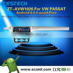 3W WiFi Phone OBDII Car Lcd Monitor For VW Passat with Android4.4.4 up to 5.1 1.6GHZz MCU 4 core support all APP